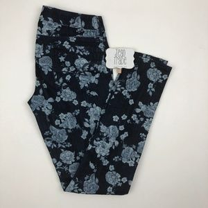 AEO American Eagle Floral Jegging